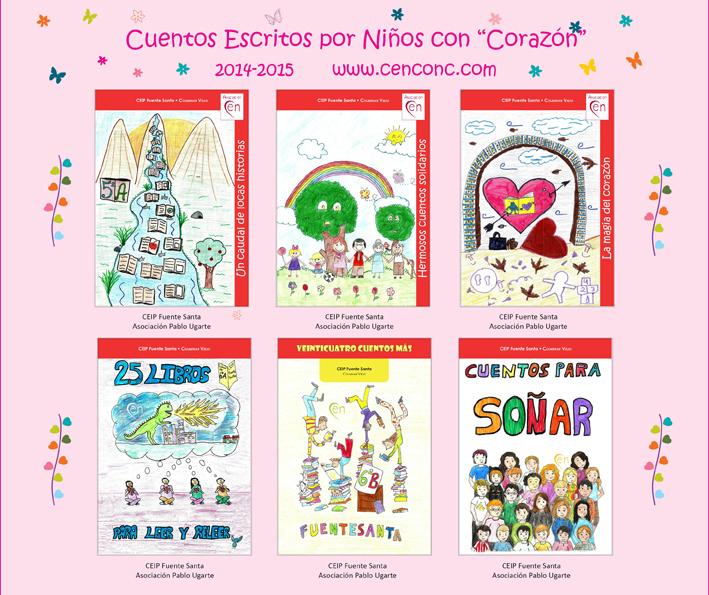 Portadas libros CEN 2014_15_Fuentesanta