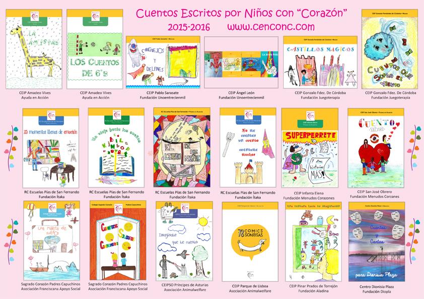 Portadas libros CEN 2015_16_VARIOS