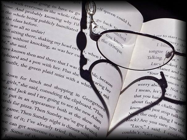 corazon en un libro