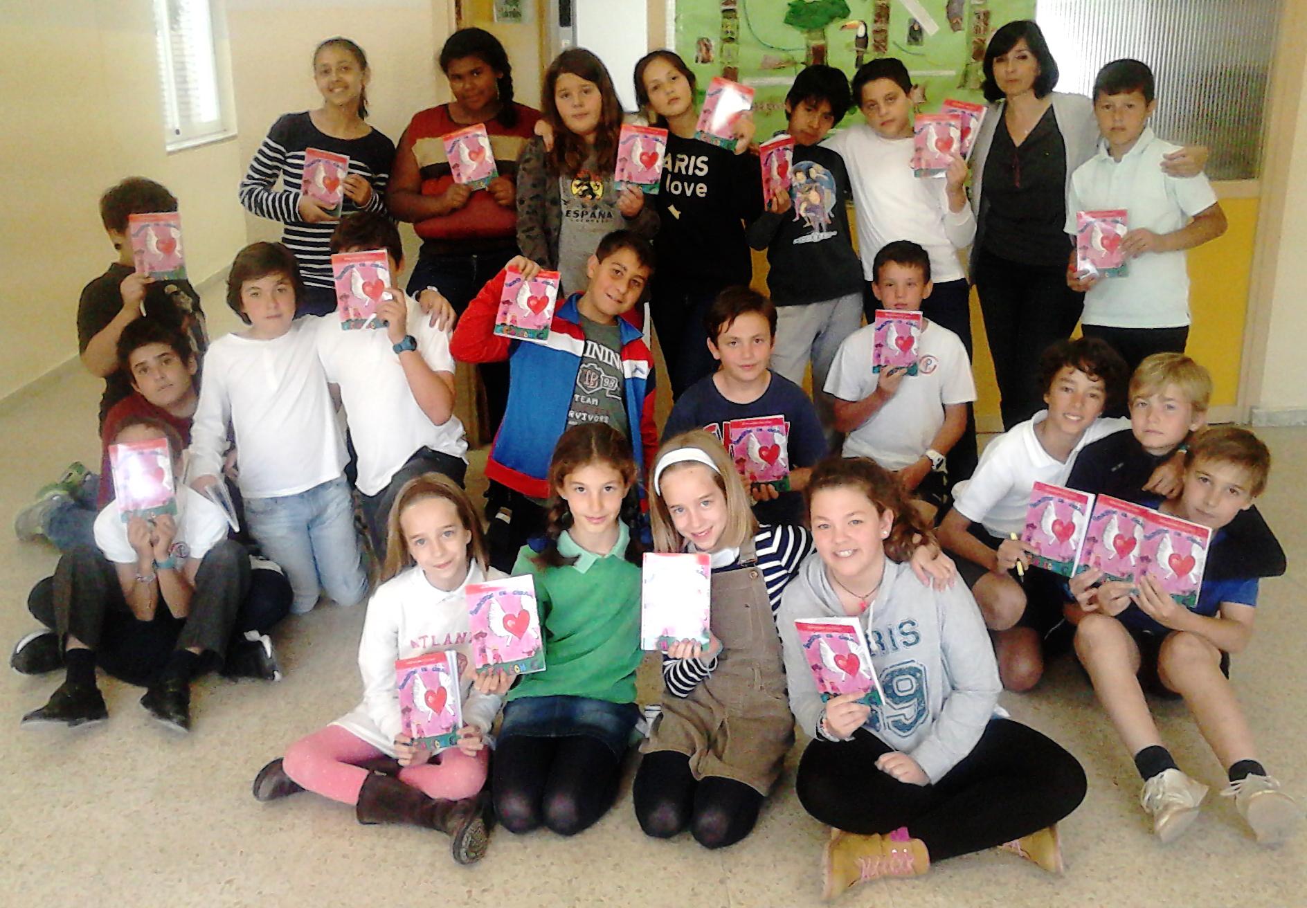 foto grupo libro